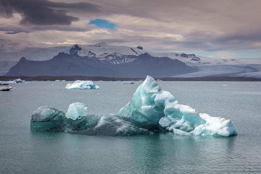 Jokulsarlon Glacier Lagoon Photograph