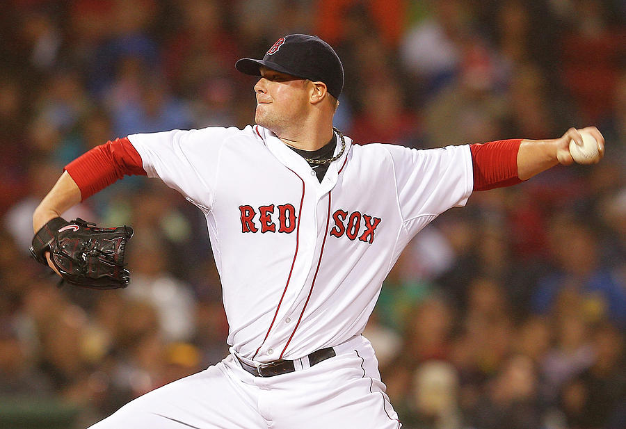 Jon Lester Photograph by Jim Rogash