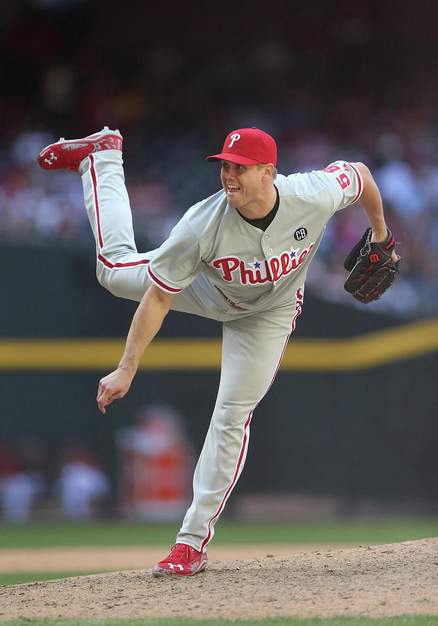 Jonathan Papelbon Photograph by Christian Petersen