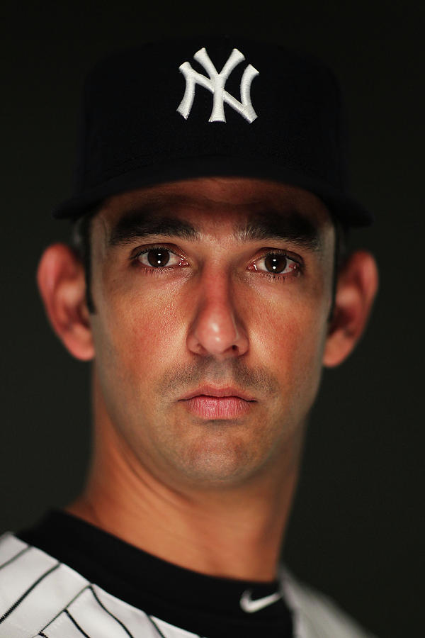 Jorge Posada Photograph by Al Bello