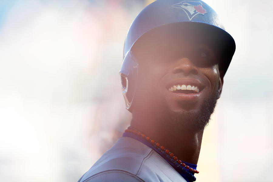 Jose Reyes Photograph by Mike Stobe