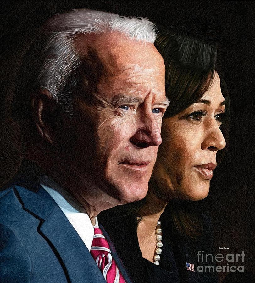 Joseph R Biden And Kamala Harris Painting