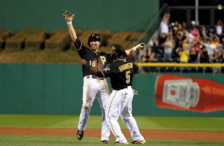 Josh Harrison And Neil Walker Photograph by Justin K. Aller