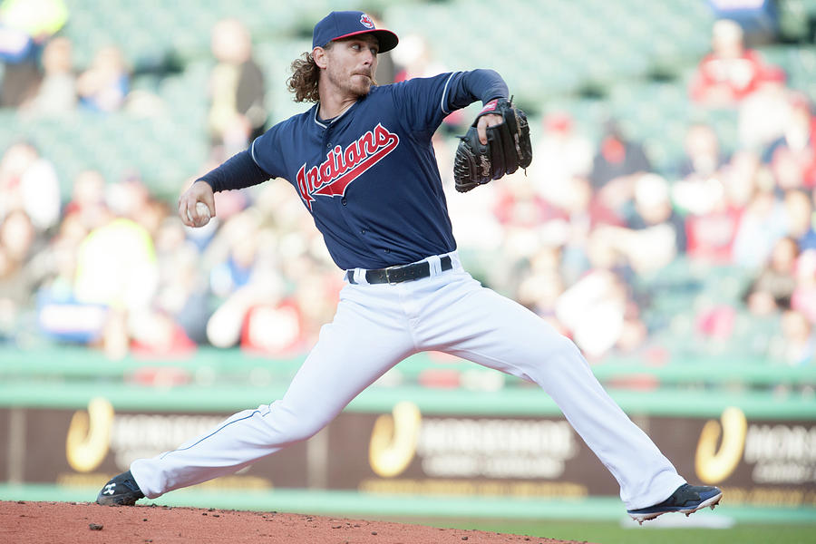 Josh Tomlin Photograph by Jason Miller