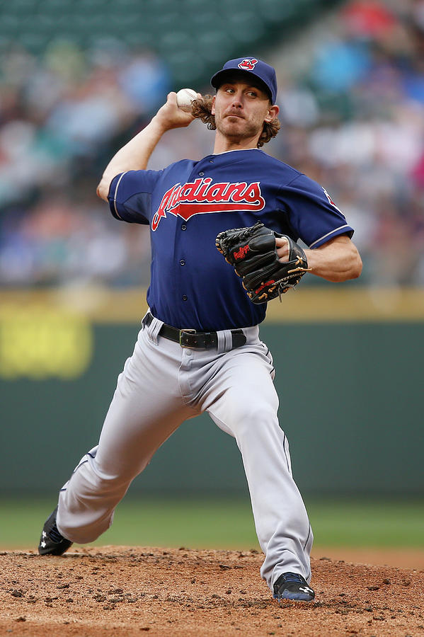 Josh Tomlin Photograph by Otto Greule Jr