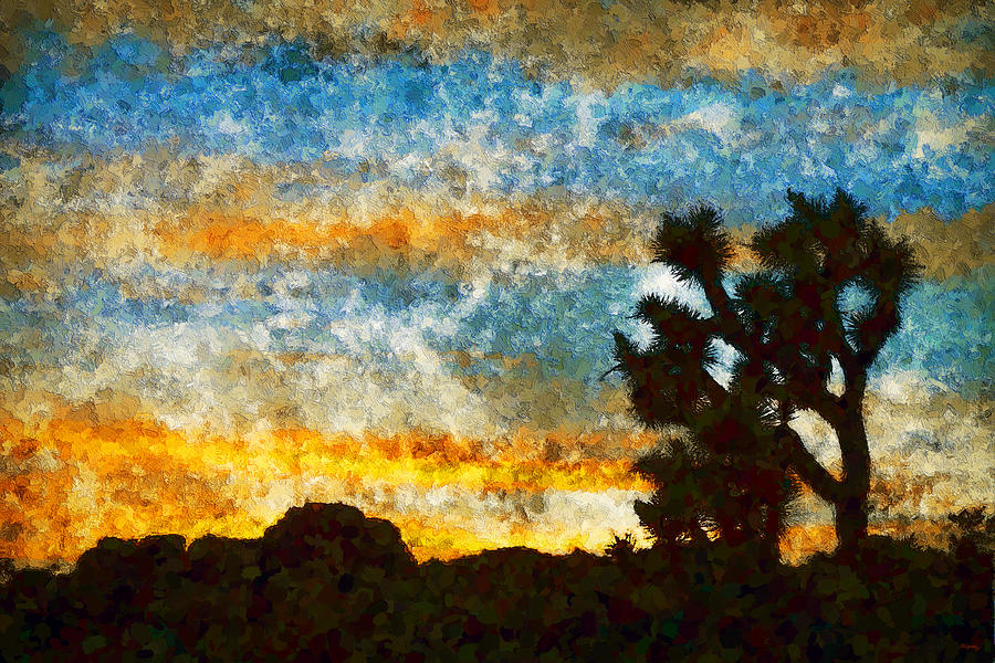 Joshua Tree Sunset by Glenn McCarthy