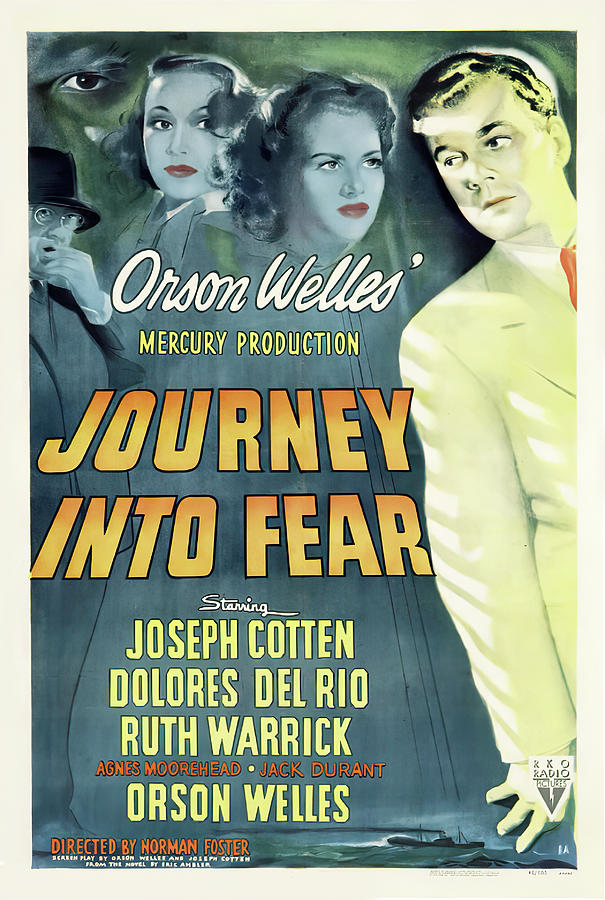 journey Into Fear, 1943 Mixed Media