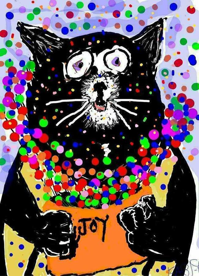 Joy Cat by Kathy Barney