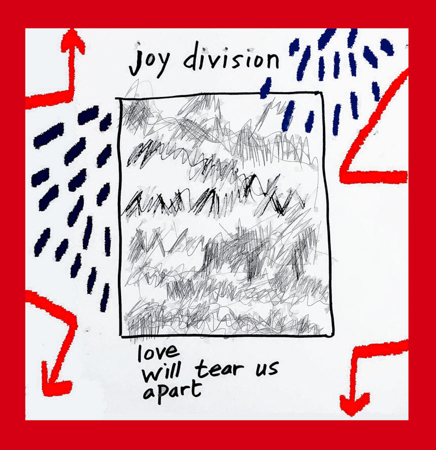 Joy Division 1980 Love Will Tear Us Apart Painting