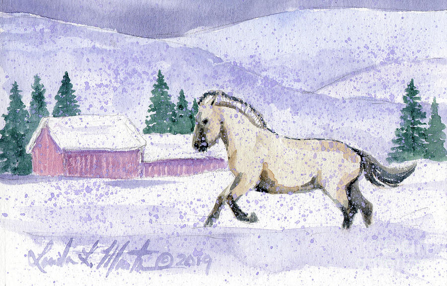 Joy in the Snow by Linda L Martin