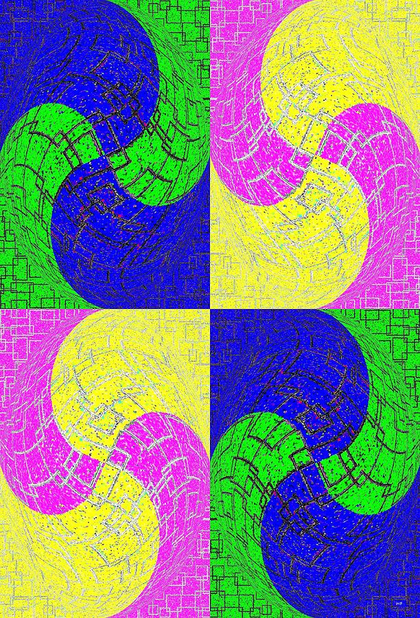 Joy Of Color 1 Digital Art