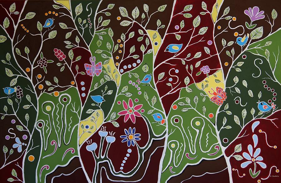 Joyful Whimsical Spring by Kathleen Sartoris