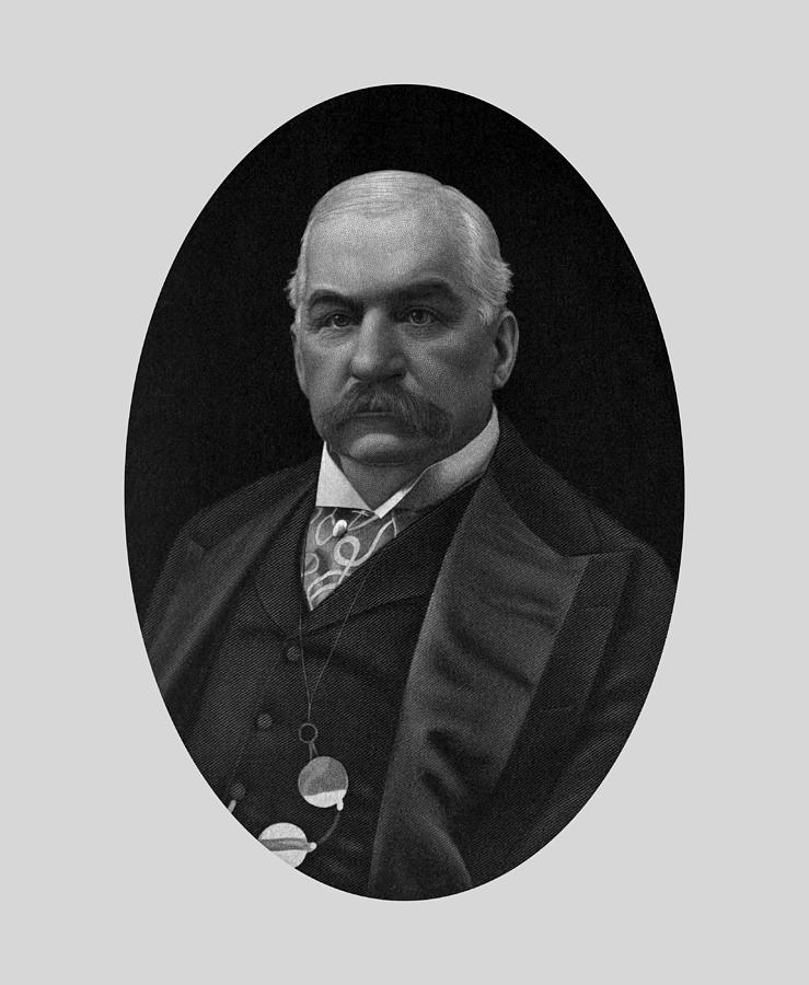 JP Morgan Engraved Portrait by War Is Hell Store