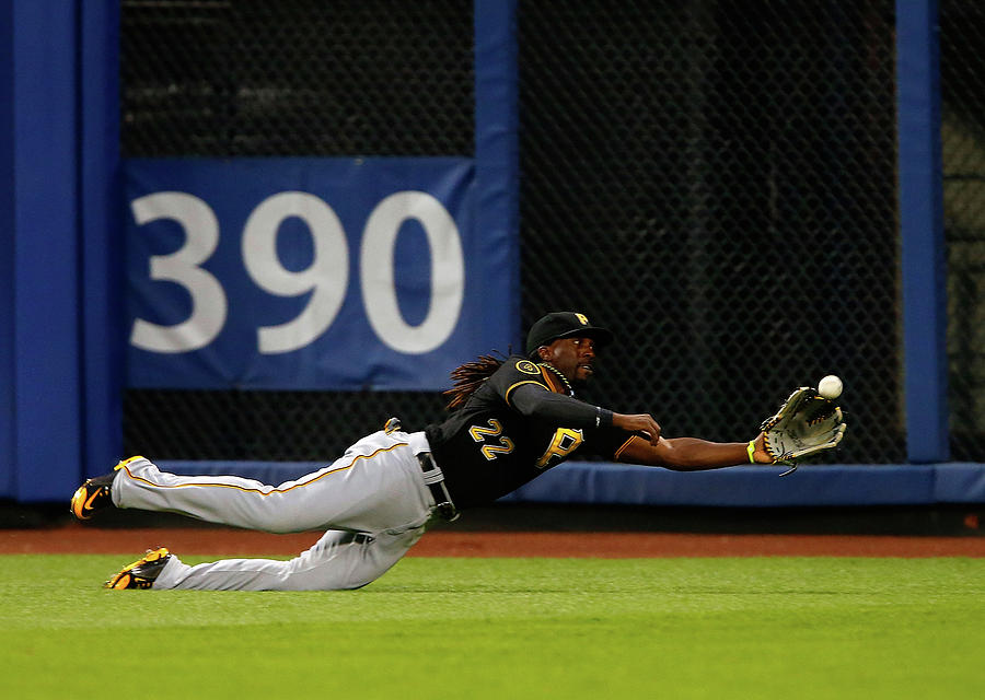 Juan Lagares and Andrew Mccutchen Photograph by Jim Mcisaac
