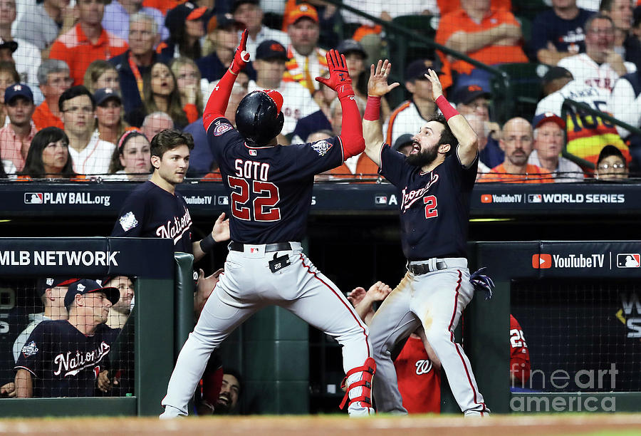 Juan Soto and Adam Eaton Photograph by Elsa