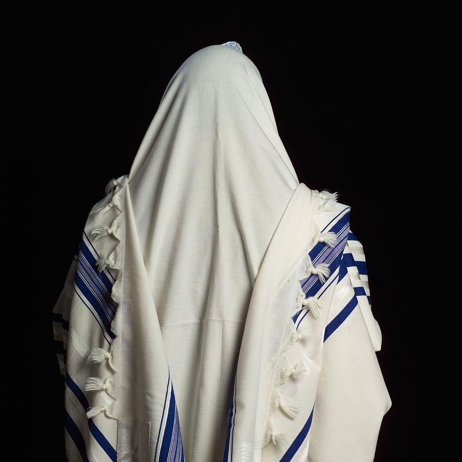 Judaica symbols - Prayer Shawl Photograph by Ingram Publishing