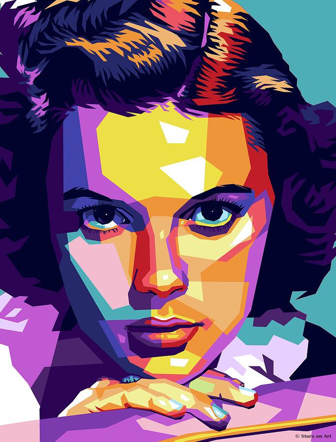 Judy Garland Mixed Media