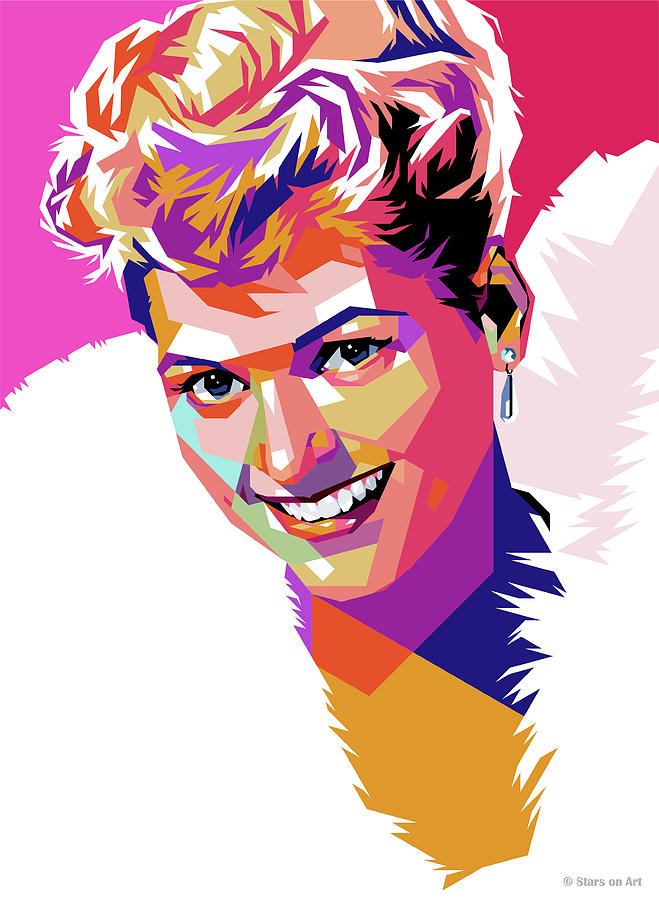 Judy Holliday Painting