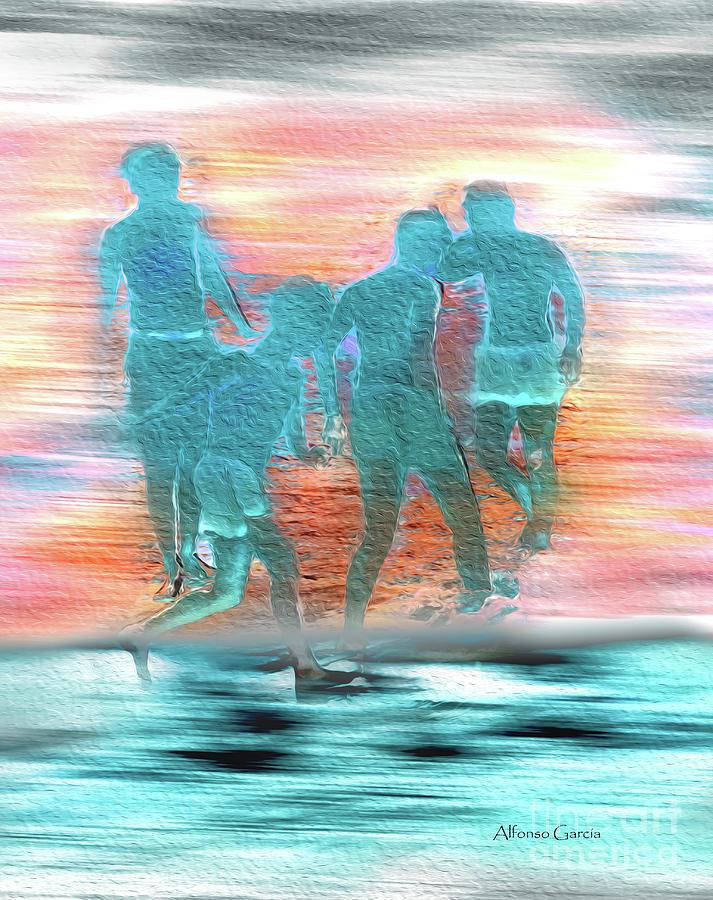 Juegos en la Playa by Alfonso Garcia