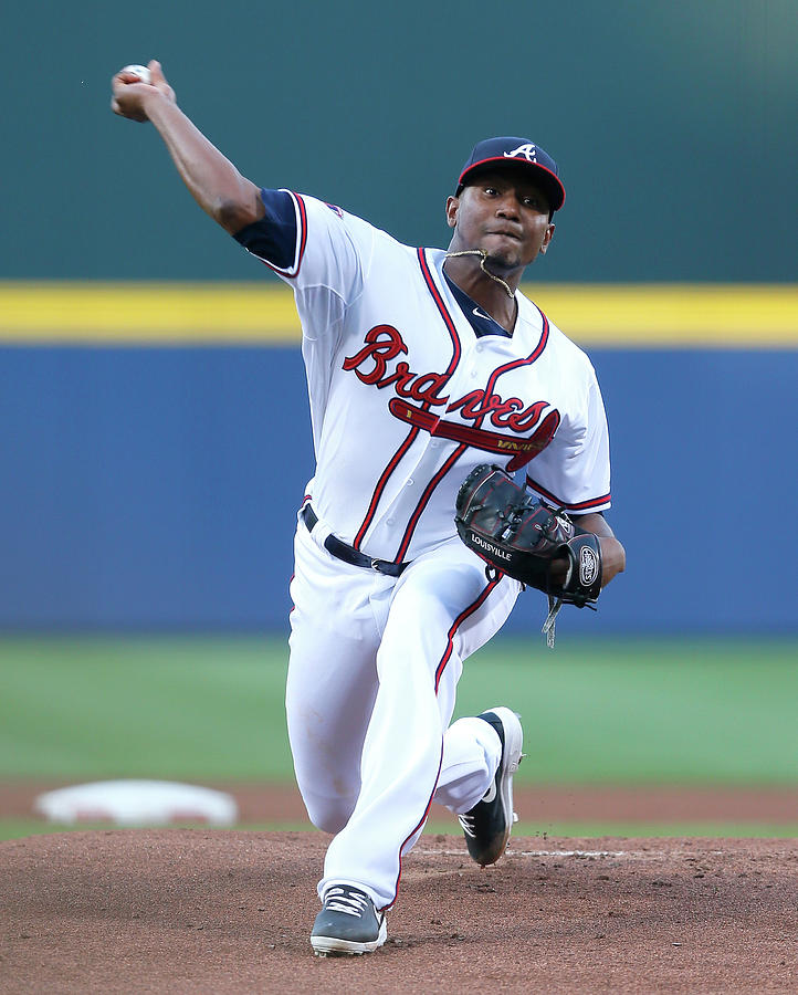 Julio Teheran Photograph by Kevin C. Cox