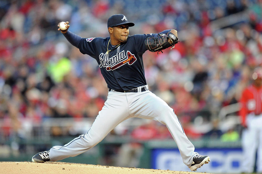 Julio Teheran Photograph by Mitchell Layton