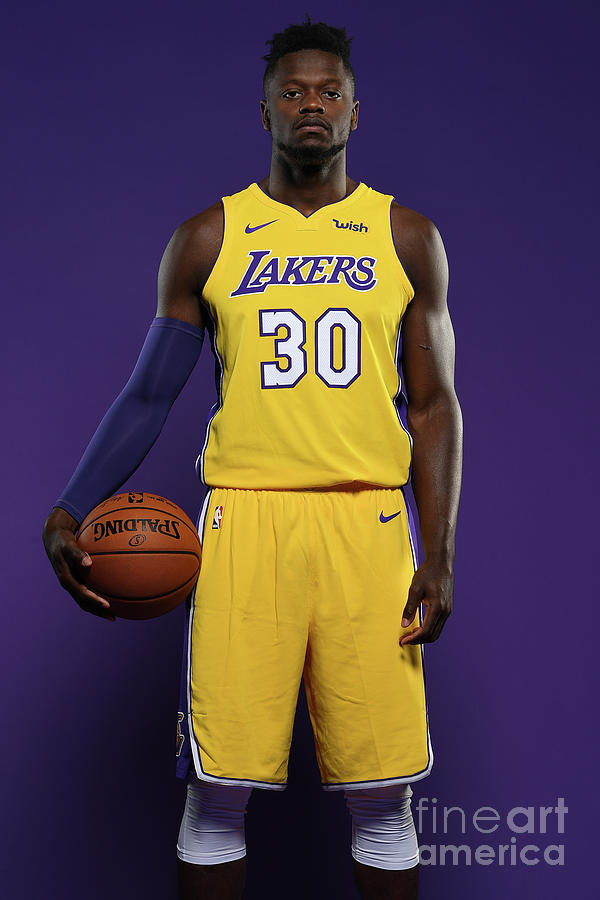 Julius Randle Photograph by Aaron Poole