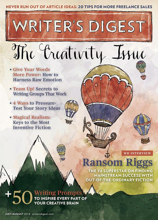 Creativity Digital Art - July 2014 by Writers Digest
