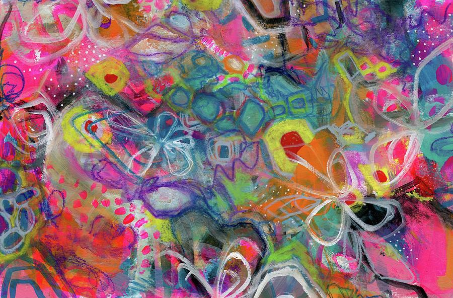 Jumpstart Painting by Robin Mead
