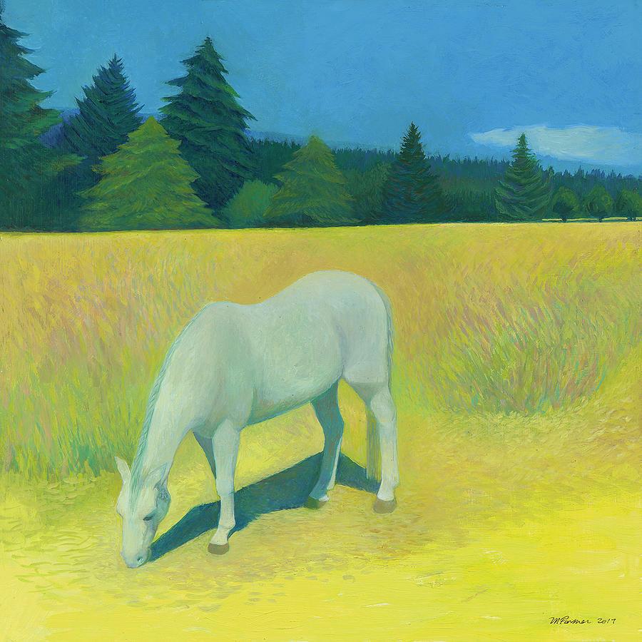 Seattle Painting - June Field by Melanie Farmer