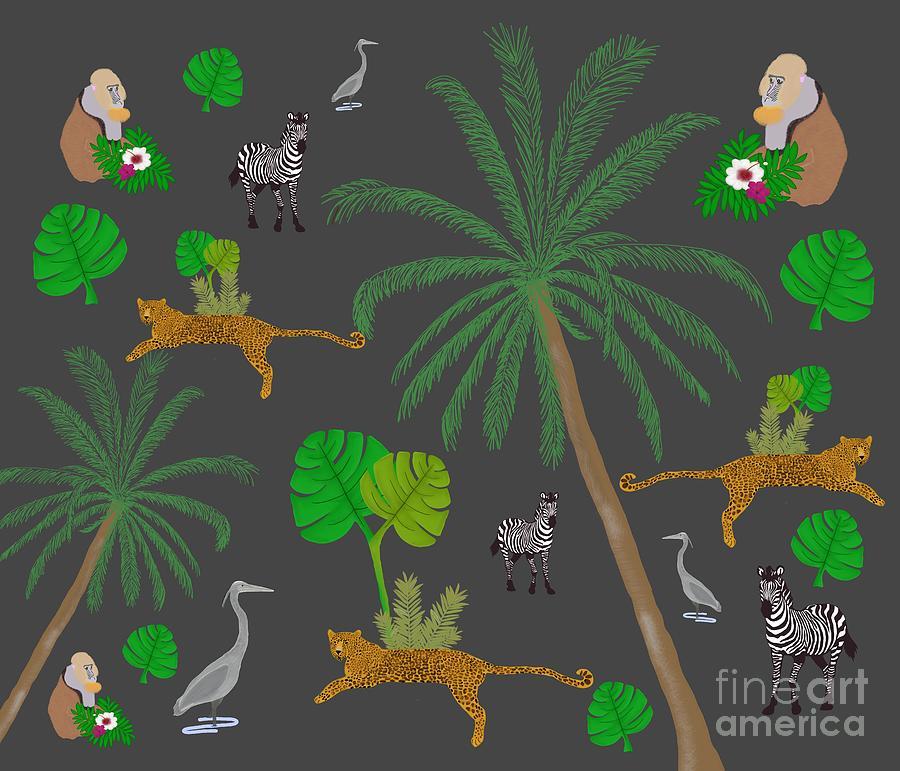 Jungle Mix Digital Art