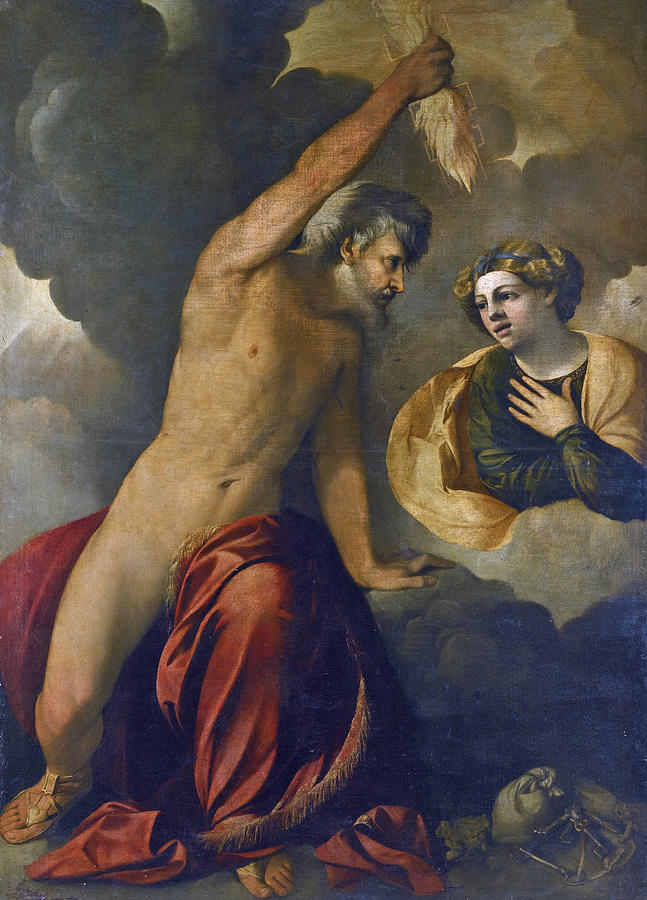 Jupiter And Semele Painting - Jupiter and Semele by Dosso Dossi