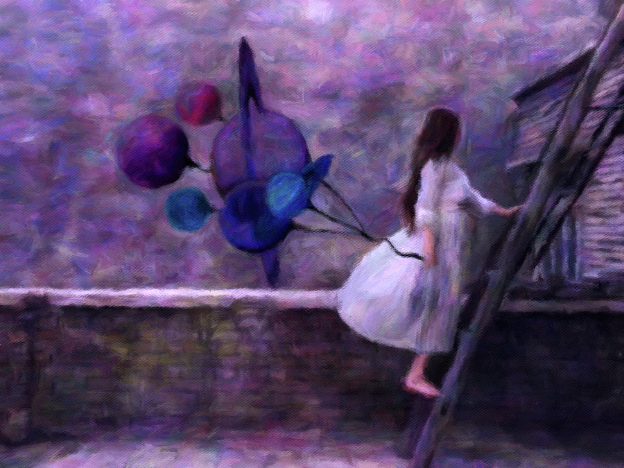Jupiters Daughter Digital Art