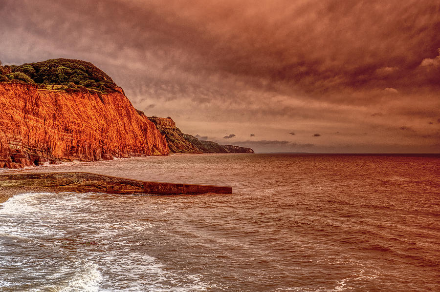 Jurassic Coast Sidmouth Sunrise by CHRIS DAY