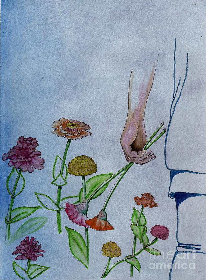 Just Zinnias by Tammy Nara