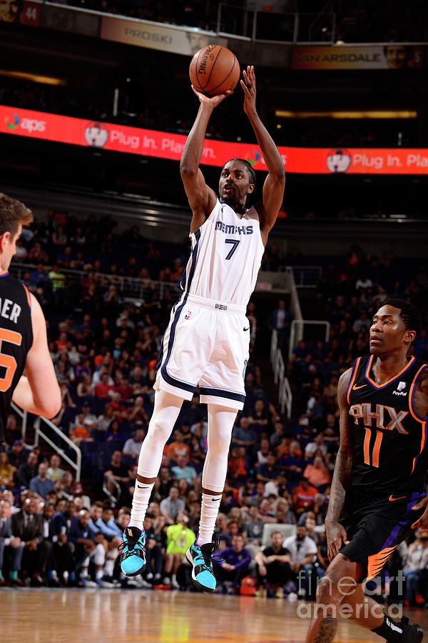 Justin Holiday Photograph by Barry Gossage