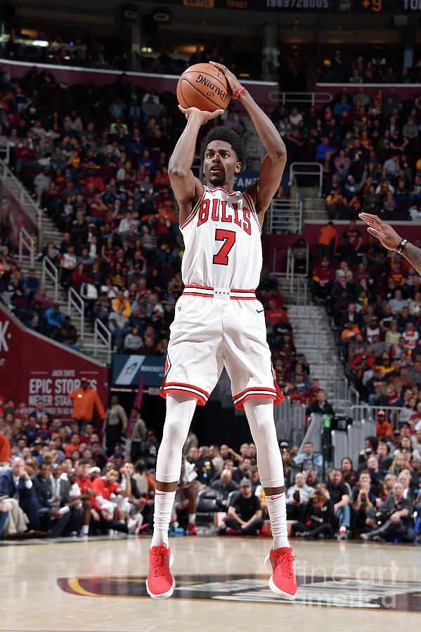 Justin Holiday Photograph by David Liam Kyle