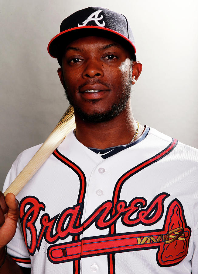 Justin Upton Photograph by Elsa
