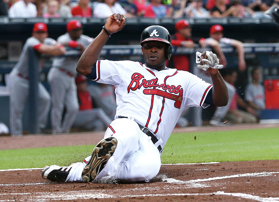 Justin Upton Photograph by Kevin C. Cox
