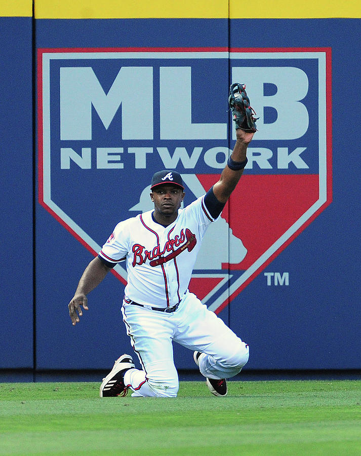 Justin Upton Photograph by Scott Cunningham
