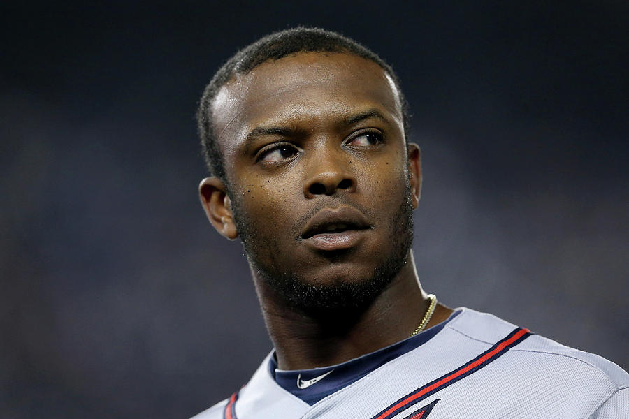 Justin Upton Photograph by Stephen Dunn