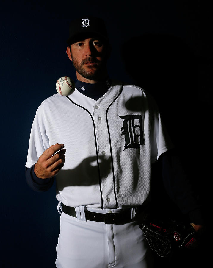 Justin Verlander Photograph by Kevin C. Cox