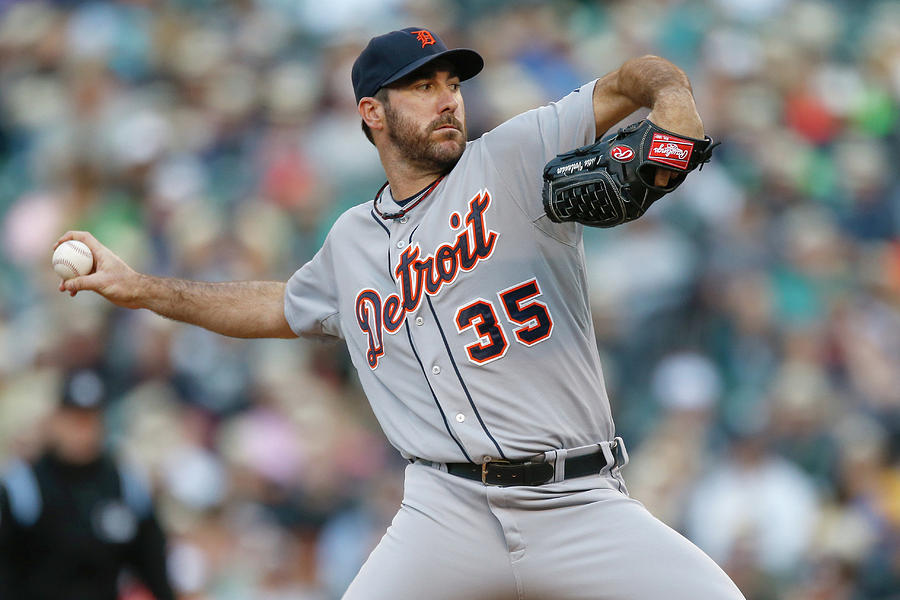Justin Verlander Photograph by Otto Greule Jr