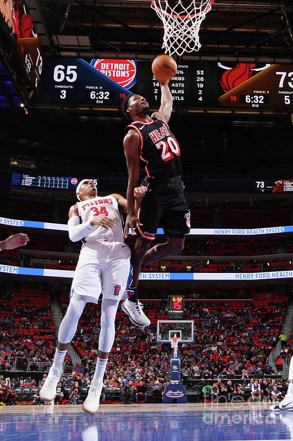 Justise Winslow Photograph by Brian Sevald