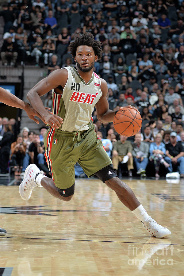 Justise Winslow Photograph by Mark Sobhani