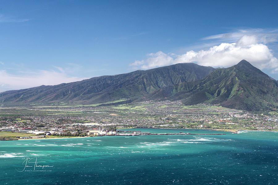 Hawaii Photograph - Kahului Bay by Jim Thompson