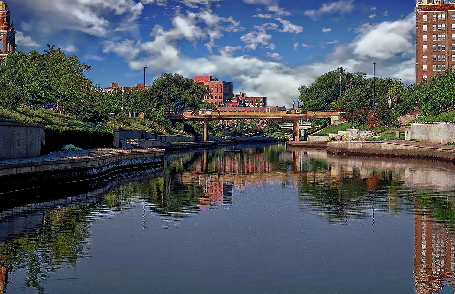 Kansas City Riverwalk Photograph