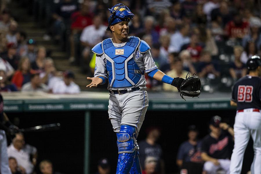 Kansas City Royals v Cleveland Indians Photograph by Jason Miller