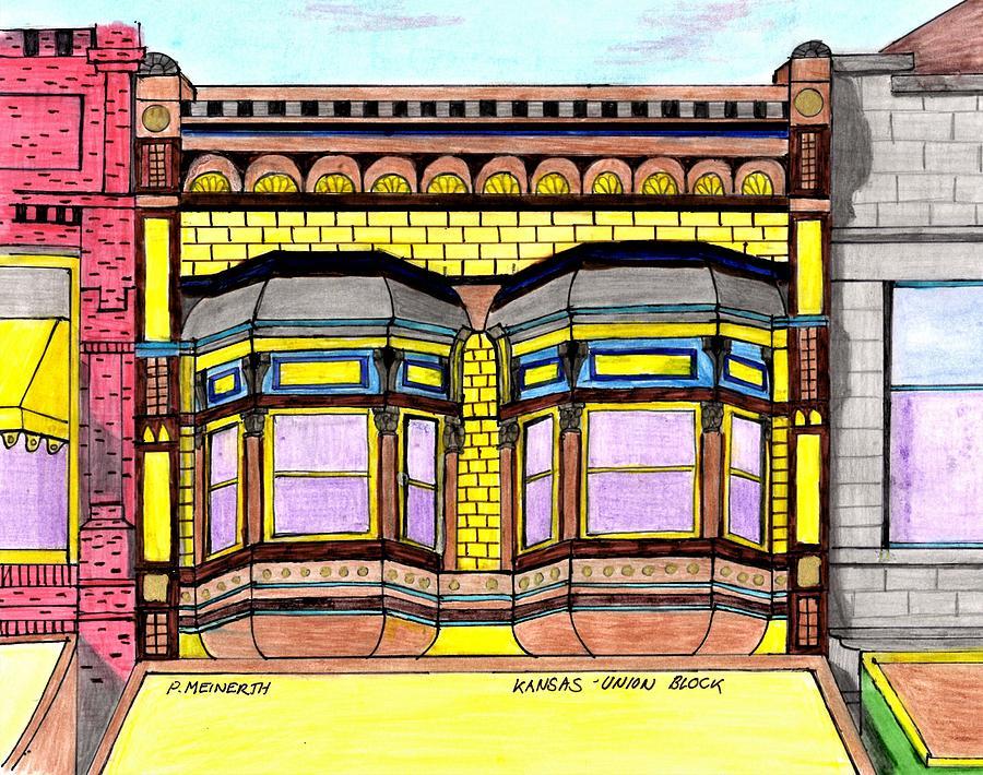 Kansas- Union Block Drawing