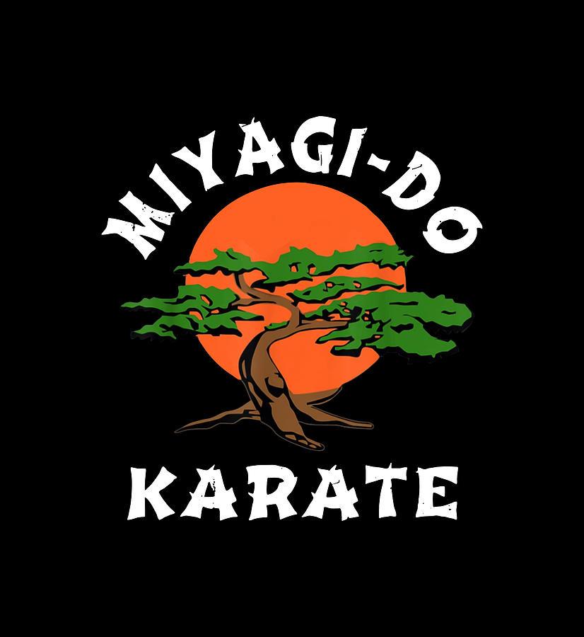 Karate Kid Miyagi Do Digital Art