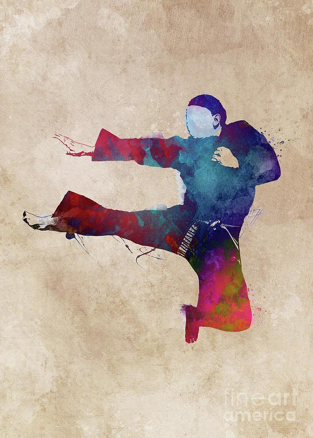 Karate Sport #karate #sport Digital Art